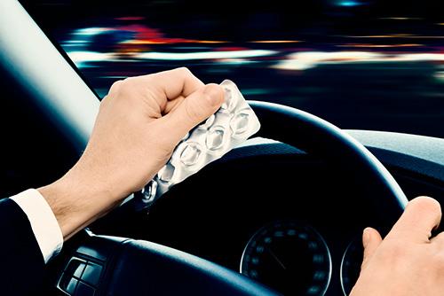 Таблетки за рулем