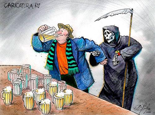 К чему приводит пивной алкоголизм